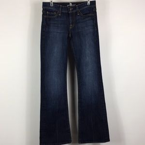7 for all mankind   bootcut   size 25